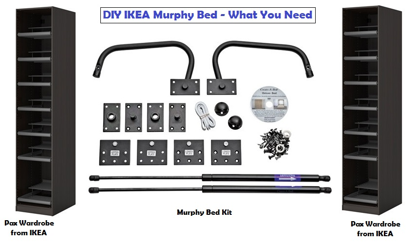 murphy bed kit ikea ikea murphy bed 16490