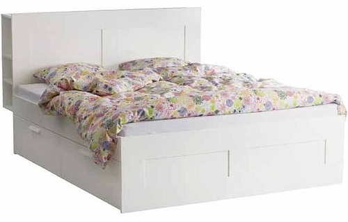 Queen Bed Frames With Headboard And