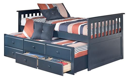 Trundle Bed With Drawers